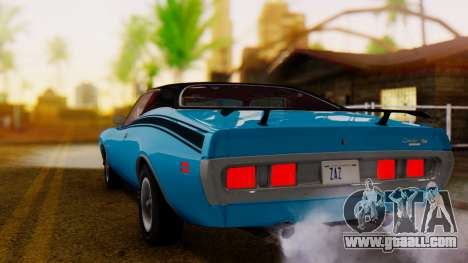 Dodge Charger Super Bee 426 Hemi (WS23) 1971 IVF for GTA San Andreas left view