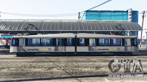 GTA 5 New textures trams second screenshot