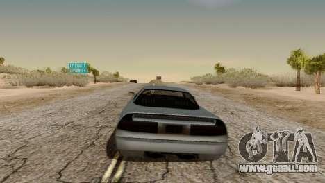 Physics from Forza Motorsport 5 for GTA San Andreas third screenshot