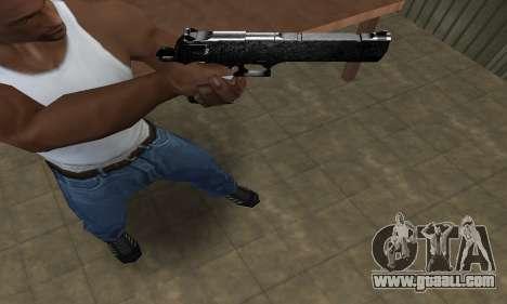 Military Deagle for GTA San Andreas third screenshot