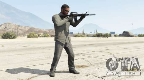 GTA 5 M4A1 second screenshot