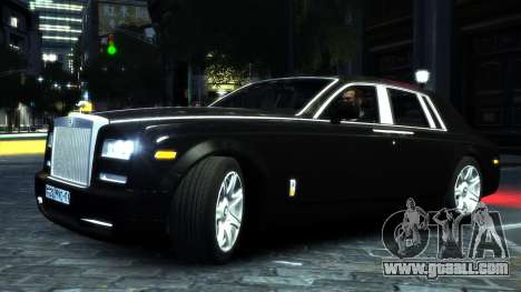 Rolls-Royce Phantom 2013 v1.0 for GTA 4 back left view