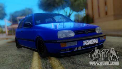 Volkswagen Golf 3 Pink Floyd for GTA San Andreas