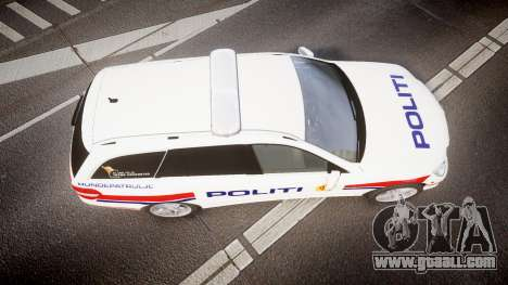Mercedes-Benz E63 AMG Estate 2012 Police [ELS] for GTA 4 right view