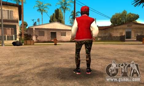 Army Girl for GTA San Andreas third screenshot
