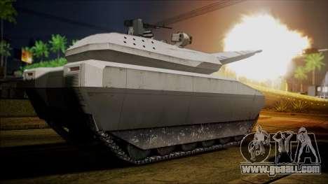 PL-01 Concept Desert for GTA San Andreas back left view