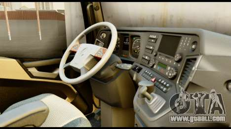 Mercedes-Benz Actros MP4 4x2 Exclusive Interior for GTA San Andreas right view