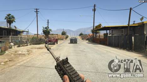 GTA 5 BF4 AR160 fifth screenshot