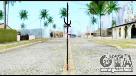 Yukimura Spear for GTA San Andreas