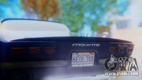 Invetero Coquette BlackFin v2 GTA 5 Plate for GTA San Andreas bottom view
