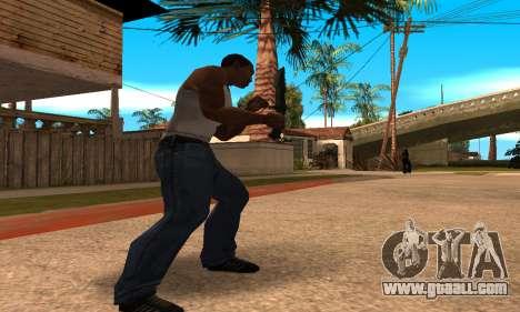 Cool Knife for GTA San Andreas third screenshot