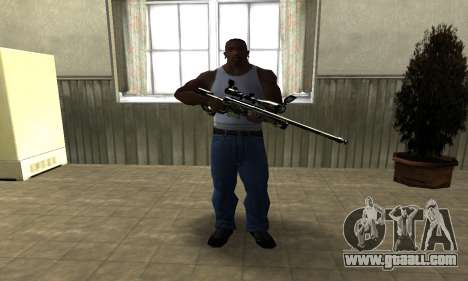 Lithy Sniper Rifle for GTA San Andreas second screenshot