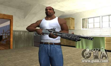 Sawn-Off Shotgun for GTA San Andreas third screenshot