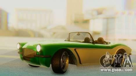 Invetero Coquette BlackFin v2 GTA 5 Plate for GTA San Andreas
