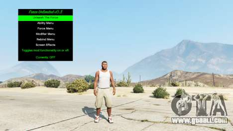 GTA 5 Infinite power v0.3 third screenshot