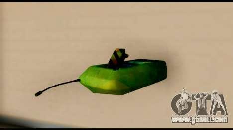 Brasileiro Bomb Detonator for GTA San Andreas