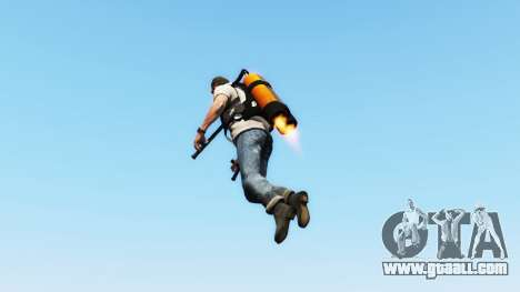 Jetpack v1.0.1 for GTA 5