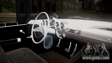 Chevrolet Impala 1959 for GTA San Andreas back view
