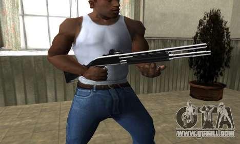 Royal Squad Shotgun for GTA San Andreas second screenshot