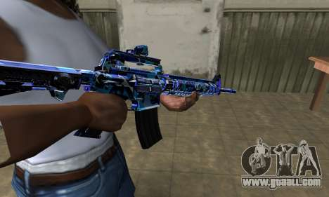 Cold M4 for GTA San Andreas