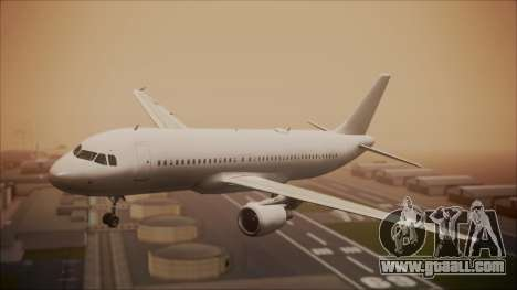 Airbus A320-200 for GTA San Andreas