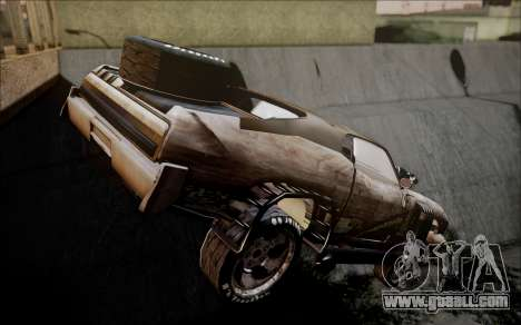 Mad Max 2 Ford Landau for GTA San Andreas left view