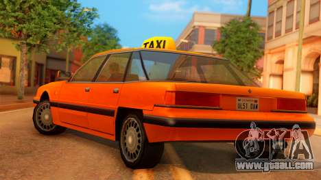 Taxi Intruder for GTA San Andreas left view