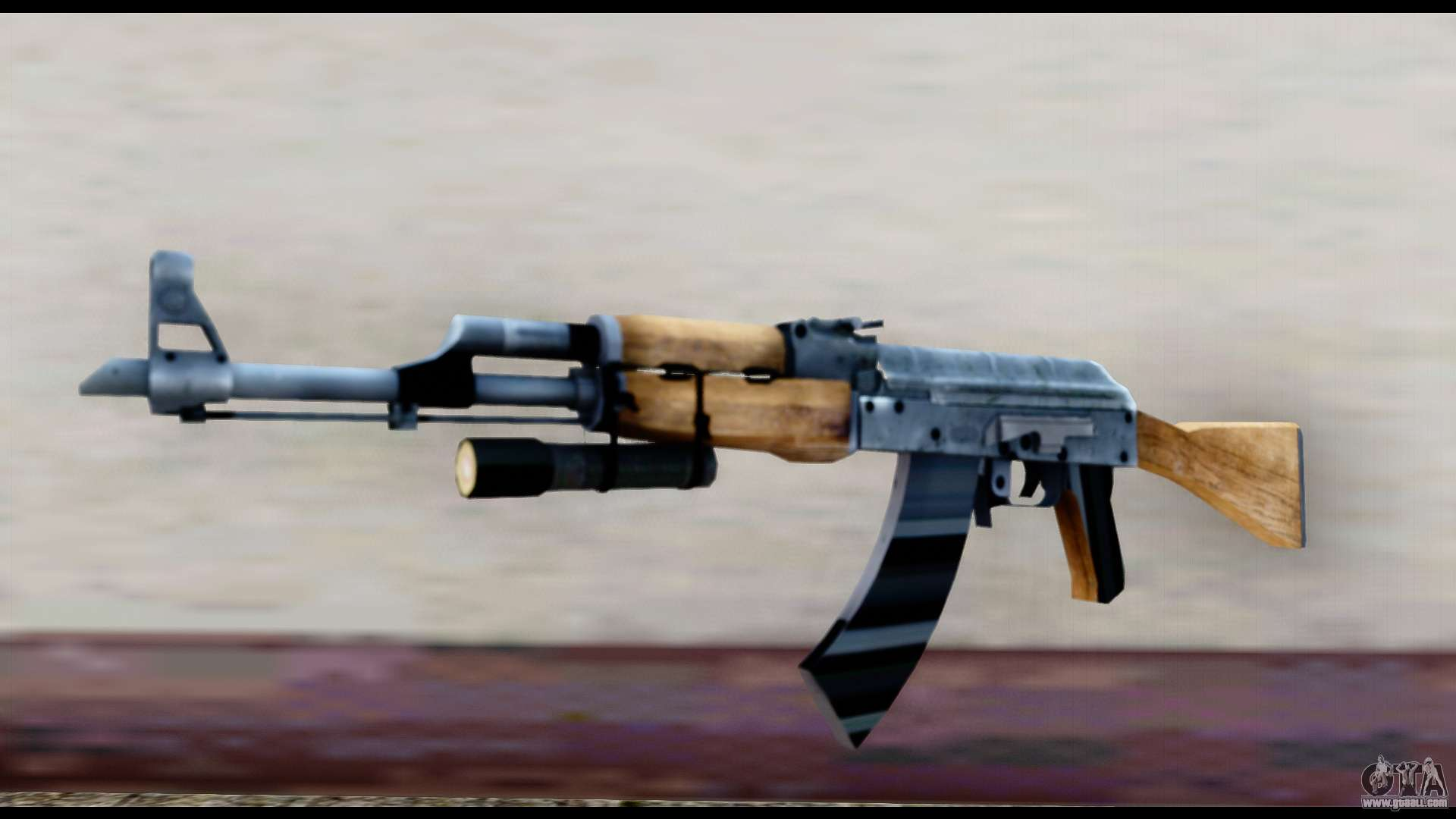 AK-47 from L4D2 for GTA San Andreas