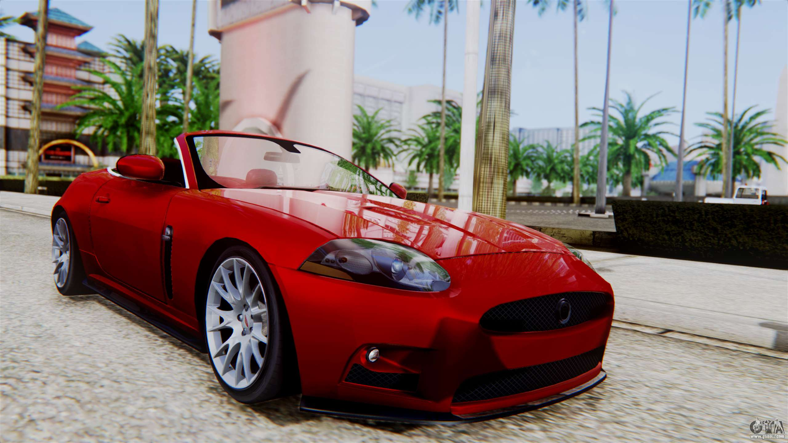 jaguar xkr s 2011 cabrio for gta san andreas. Black Bedroom Furniture Sets. Home Design Ideas