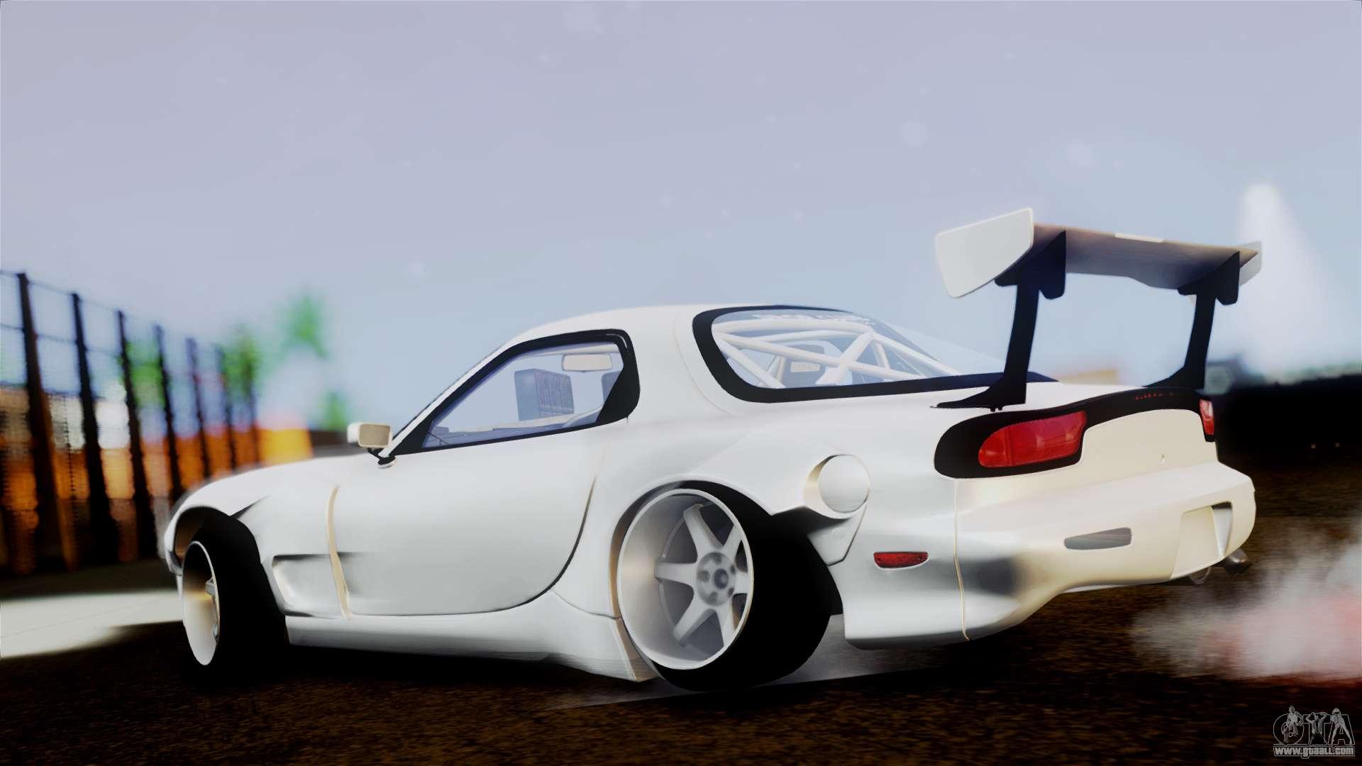 Mazda Rx 7 Fd For Gta San Andreas