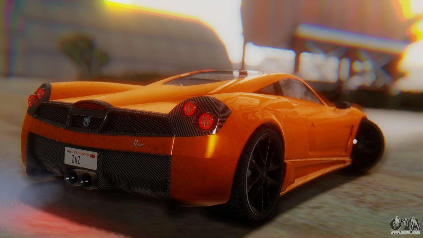 GTA 5 Pegassi Osiris SA Style For GTA San Andreas