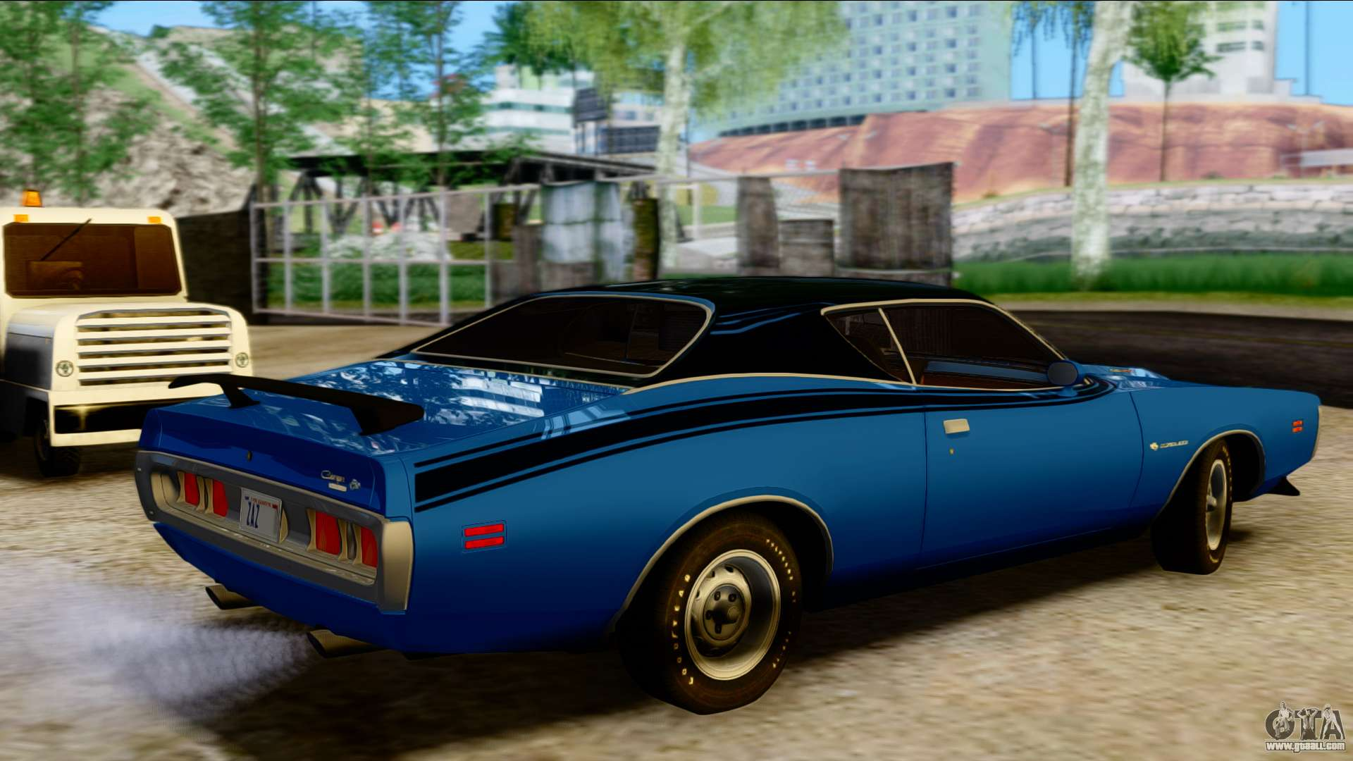 dodge charger super bee 426 hemi ws23 1971 pj for gta san andreas. Black Bedroom Furniture Sets. Home Design Ideas