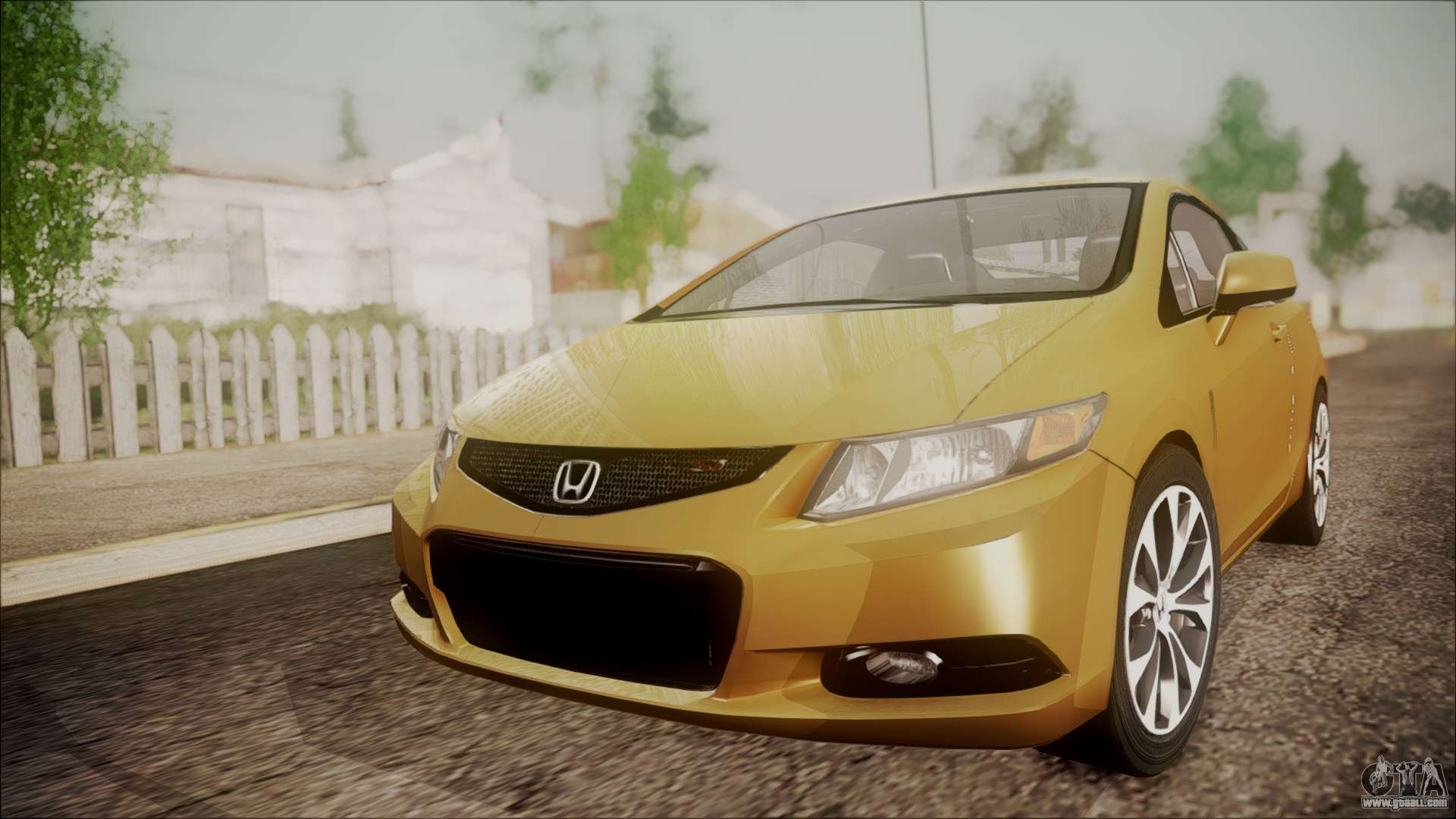 honda civic si 2012 for gta san andreas. Black Bedroom Furniture Sets. Home Design Ideas