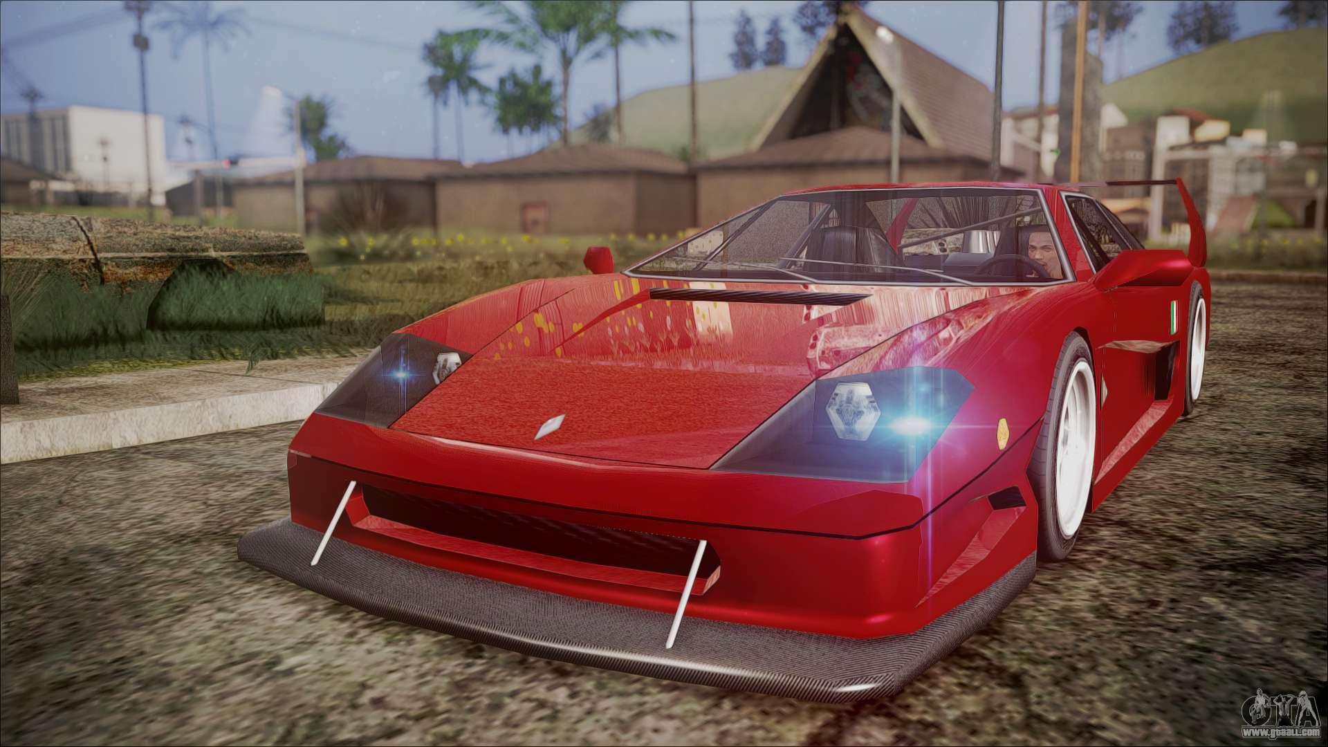 Turismo F40 for GTA San Andreas