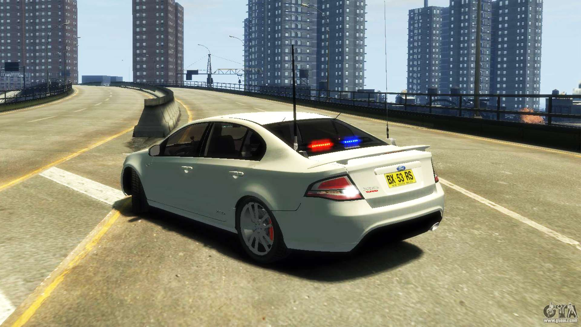 Ford Falcon Fg Xr6 Turbo Unmarked Police Els For Gta 4