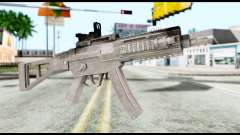 MP5 from Resident Evil 6 for GTA San Andreas