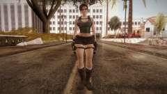 Well Armed Lara Croft for GTA San Andreas