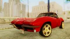 Chevrolet Corvette Sting Ray 427 SA Style for GTA San Andreas
