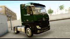 Mercedes-Benz Actros MP4 4x2 Exclusive Interior for GTA San Andreas