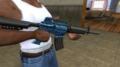 M4 Blue Snow for GTA San Andreas