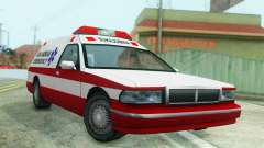 Premier Ambulance for GTA San Andreas