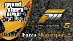 Physics from Forza Motorsport 5
