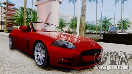 Jaguar XKR-S 2011 Cabrio for GTA San Andreas