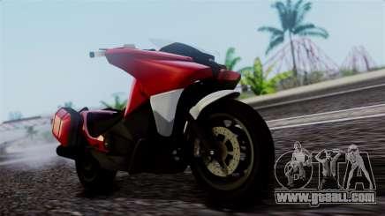 Dinka Vindicator SA Plate for GTA San Andreas