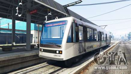 New textures trams for GTA 5