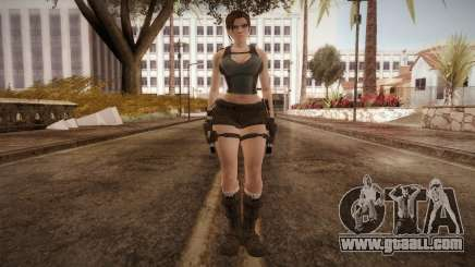 Well Armed Lara Croft for GTA San Andreas