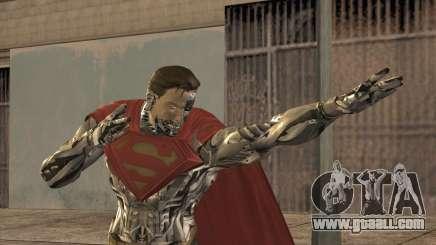 Superman Cyborg v2 for GTA San Andreas