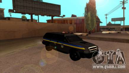 Chevrolet Blazer Berkut for GTA San Andreas