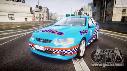 Ford Falcon BA XR8 Police [ELS] for GTA 4