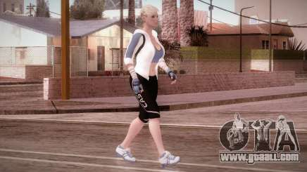 Endurance Cassie Cage from Mortal Kombat X for GTA San Andreas